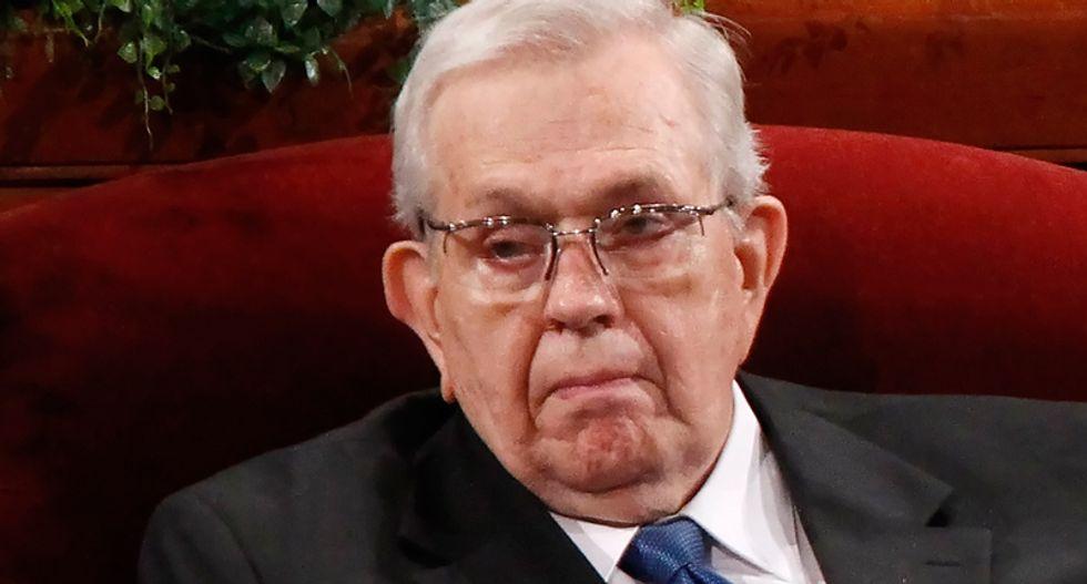 High-ranking Mormon church figure Boyd Packer dies at 90