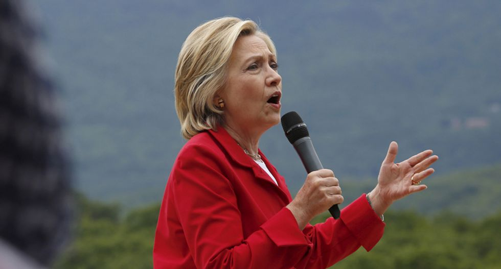 Hillary Clinton accuses China of hacking 'into everything that doesn't move in America'
