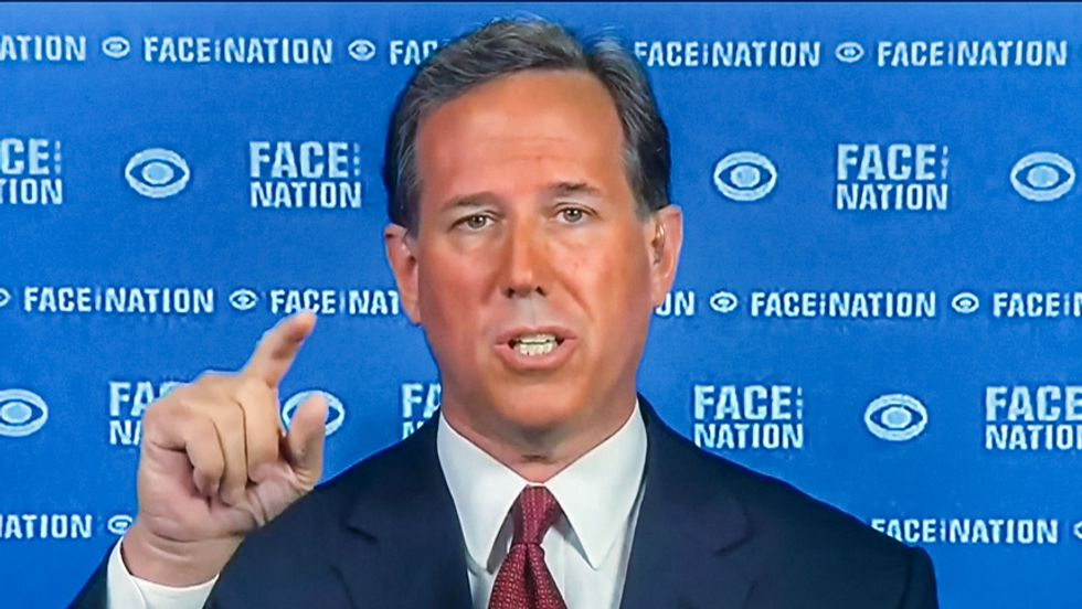 Rick Santorum: All undocumented immigrants 'obviously are coming with a bad intent'