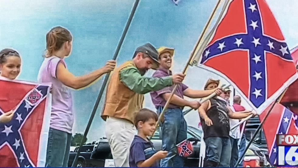 League of the South holds July 4th rally against 'cultural genocide of the Southern people'