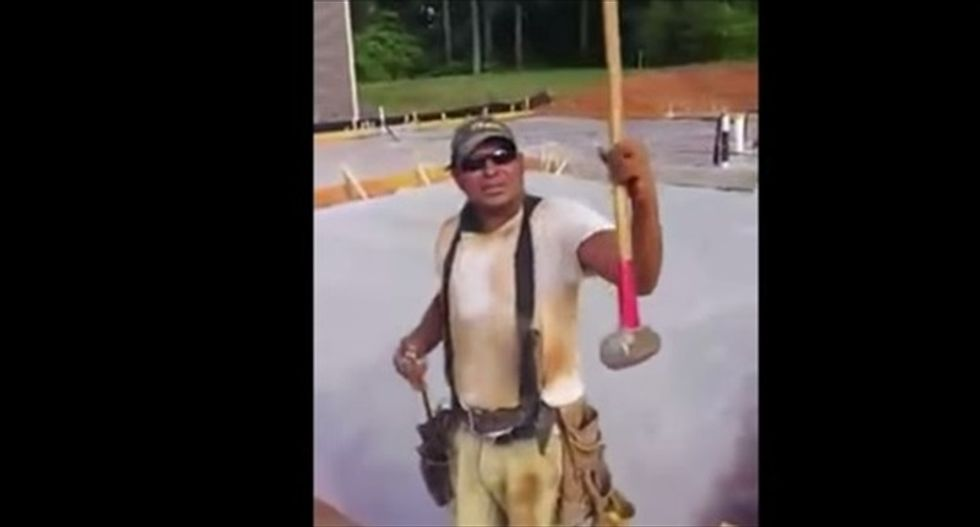 Immigrant worker blasts 'son of a b*tch' Donald Trump: My sledgehammer is my drug, fool!