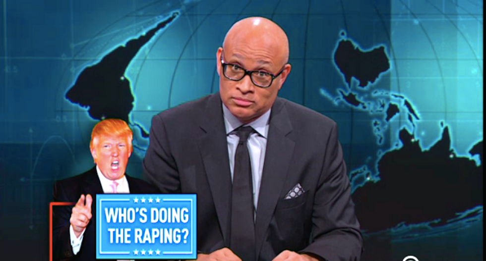 Larry Wilmore begs Republican voters to keep supporting Donald Trump's joke of a presidential campaign