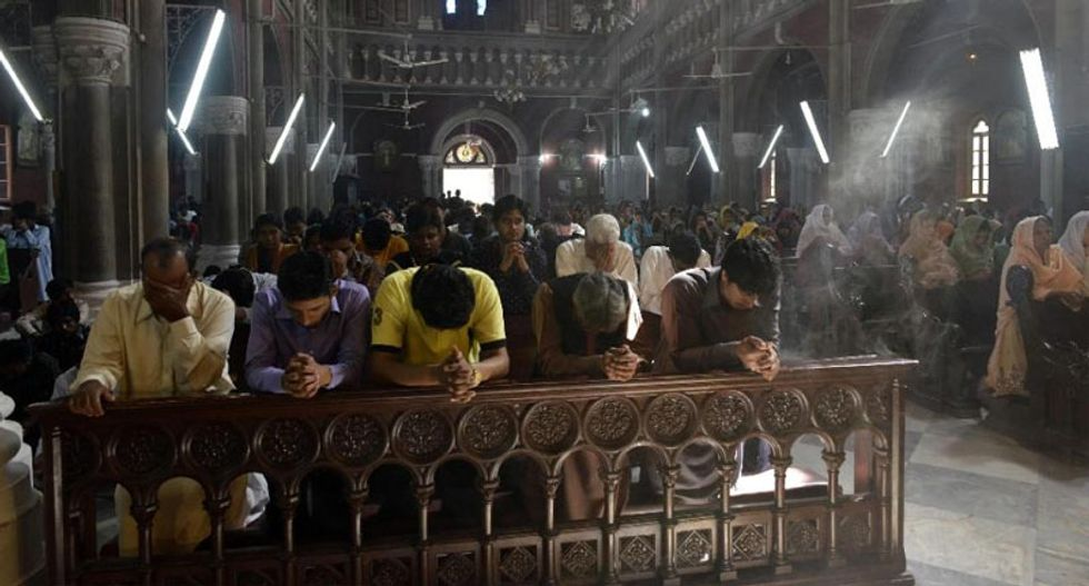 Pakistani police save Christian couple from 'blasphemy' mob