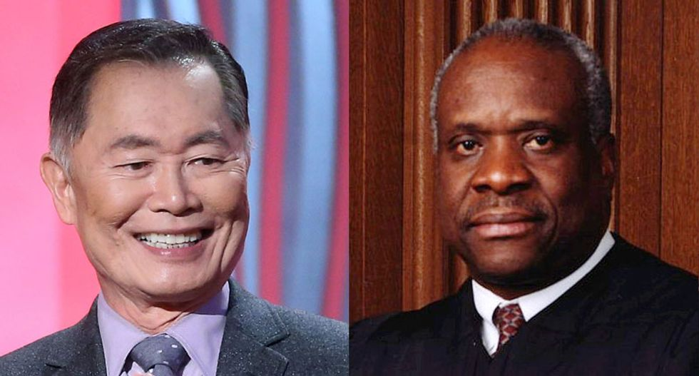 Conservatives: George Takei worse than KKK for calling Clarence Thomas a 'clown in blackface'