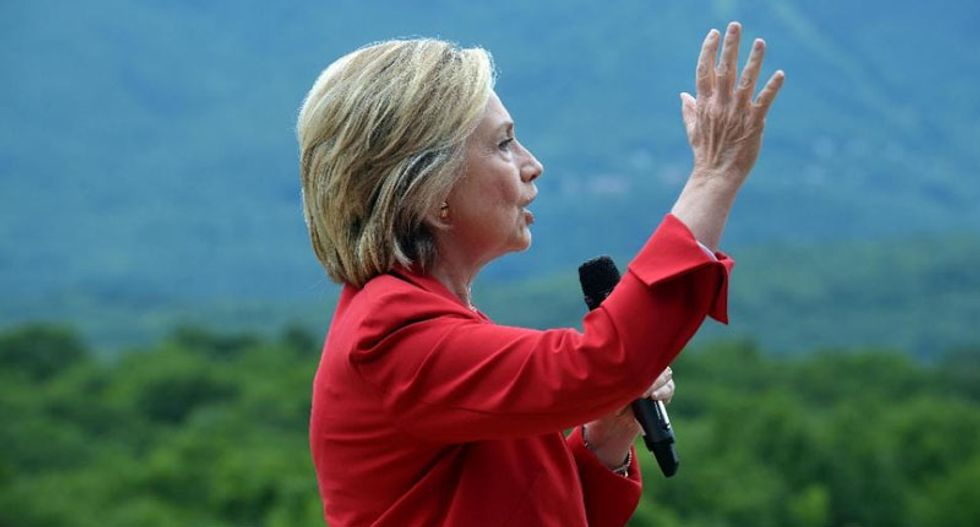 Hillary Clinton says China 'trying to hack into everything that doesn't move'
