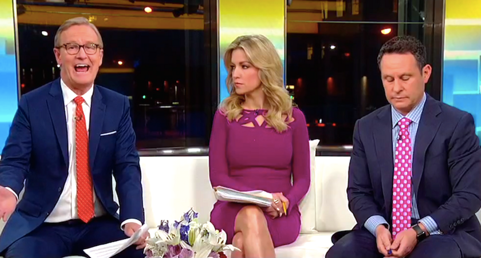 'Hopefully there's a grand plan': Fox & Friends excuses Trump's congratulatory call to Putin -- and blames Obama