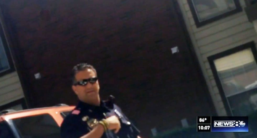 'Shut the f*ck up or I will break your f*cking neck': Dallas cop threatens teen after mistaken 911 call