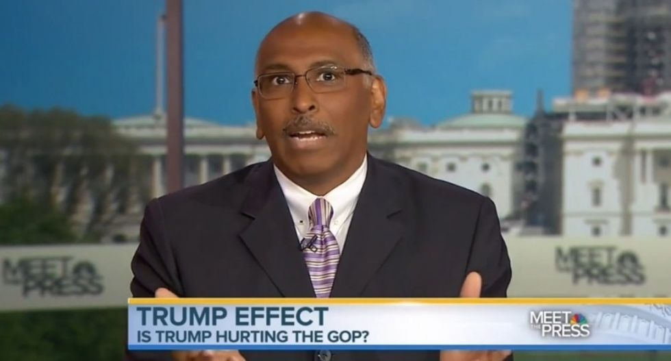 Ex-RNC head Steele: 'Emasculated' GOP lawmakers falling in line for Trump will cause the party to collapse