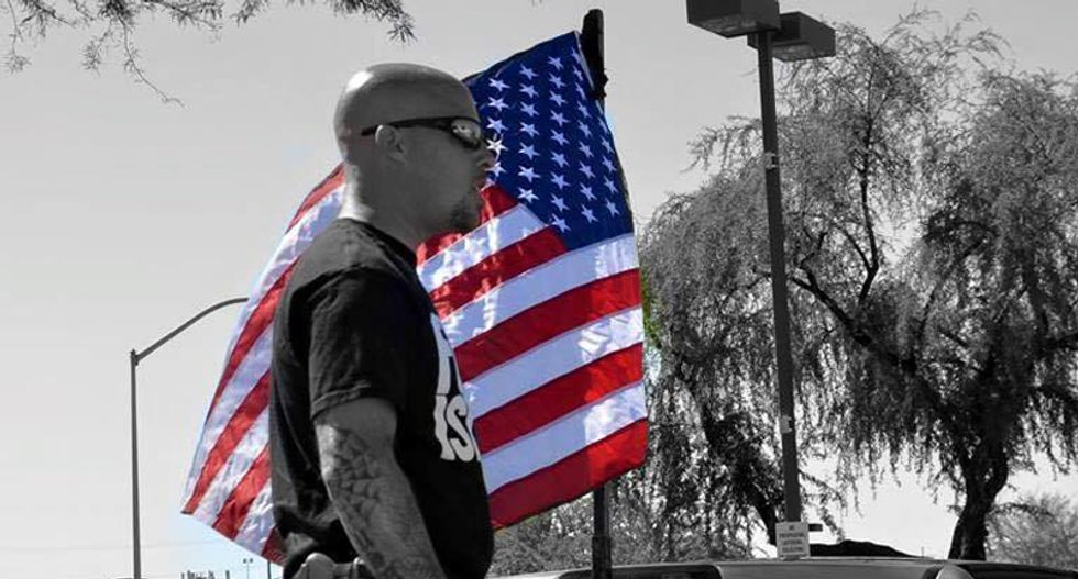 Arizona man who led anti-Muslim rally now angry at Walmart for pulling Confederate merchandise