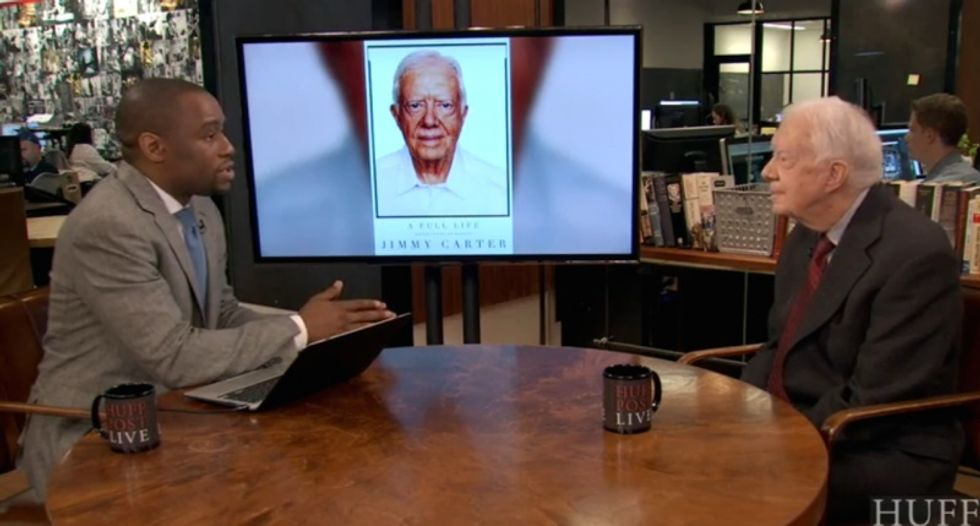 Jimmy Carter: Jesus would support same-sex marriage -- but not abortion