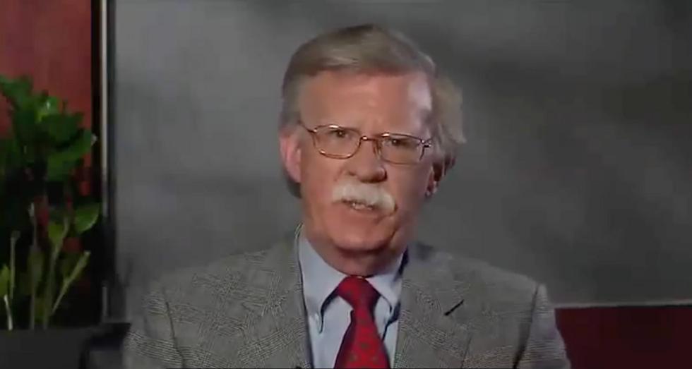 WATCH: John Bolton praises 'new era of freedom' under Putin in bizarre propaganda video for Russian gun group