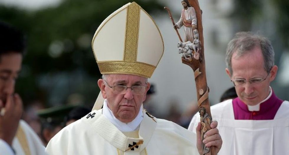 White supremacists threaten to assassinate 'anti-white' Pope Francis during US visit