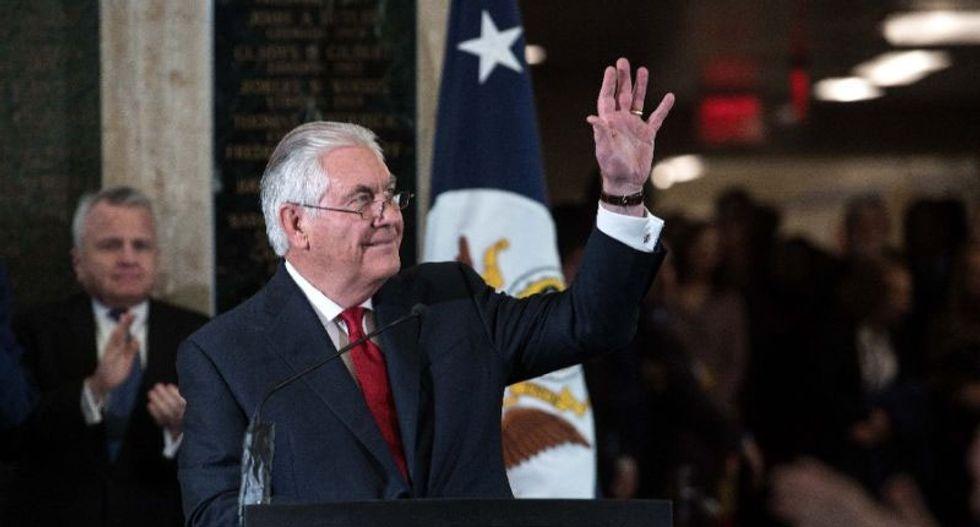 Rex Tillerson bids farewell to 'mean-spirited' Washington after being sacked by Trump