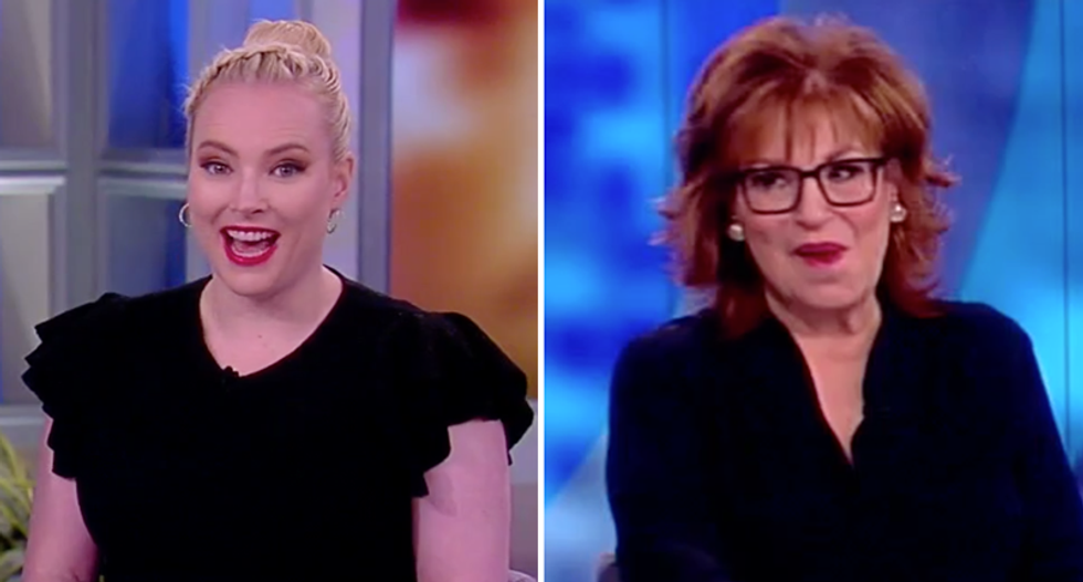 The View's Joy Behar hilariously fact-checks Meghan McCain after she whines conservatives don't win anything