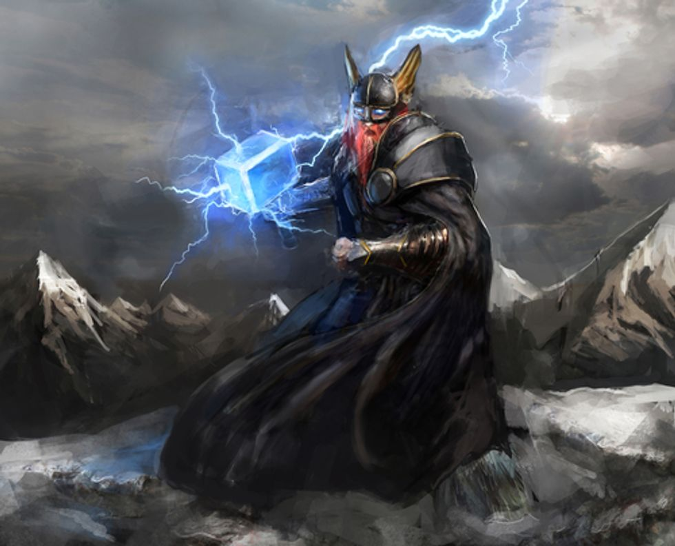 Tomorrow is Thursday. I suppose we all worship Thor now.
