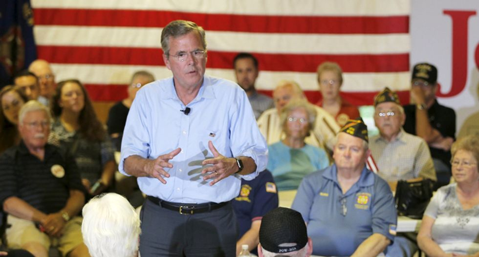 Jeb Bush says Americans should have chance to work longer hours in improved economy