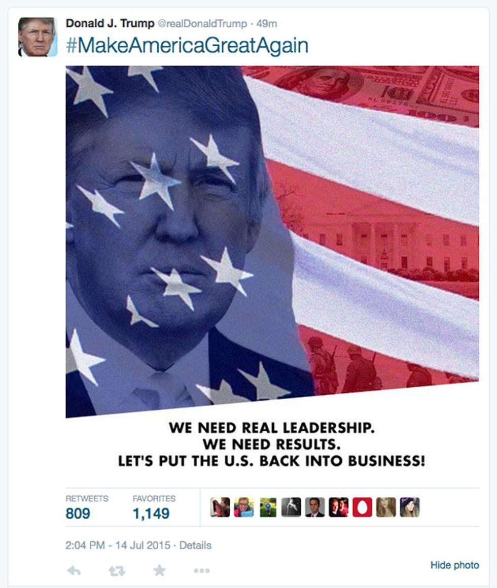 Original Trump Tweet