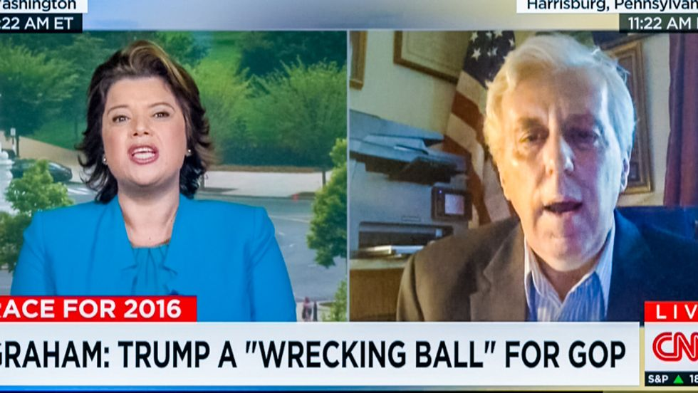 Watch this Trump backer dig himself a hole telling CNN's Ana Navarro she's not really a Latina