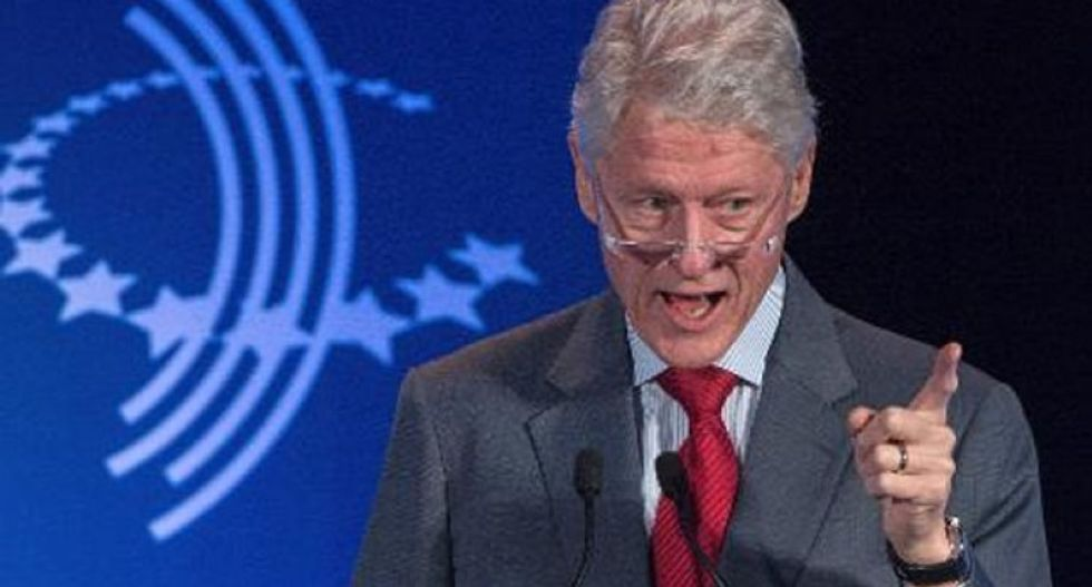 Bill Clinton used taxpayer pension to fund foundation and wife's private email server: report