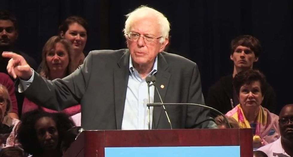 'Police must be held accountable': Bernie Sanders rips bad cops who attack young black men