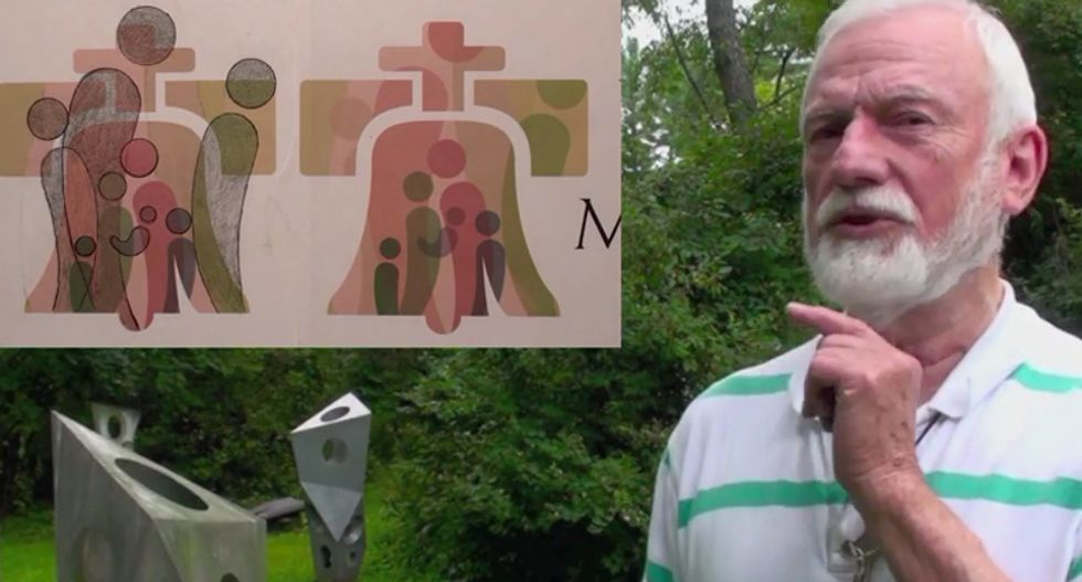Pastor: Pope tricking Christians into backing gay agenda with subliminal messages in Philly visit logo