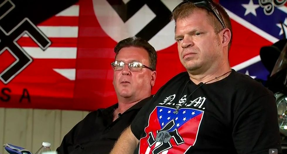 Watch Tennessee neo-Nazis boast recruiting is up following Charleston shooting: 'We're a white nation'