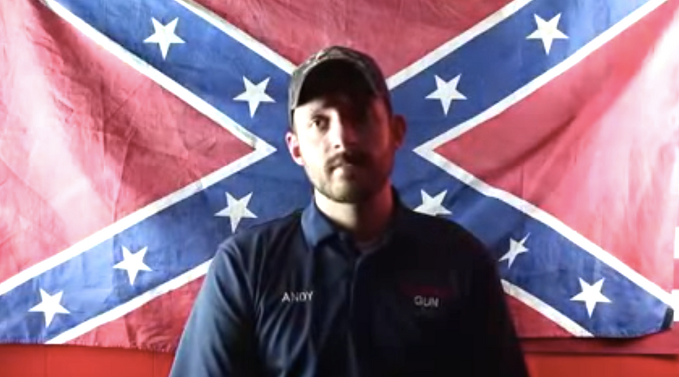 Confederate 'patriot' bans Muslims from his Florida gun shop in hilariously melodramatic video