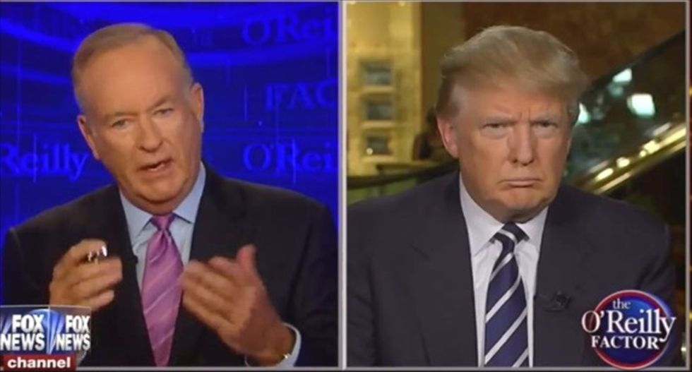 Trump's anti-immigrant 'Kate's Law' was hatched from a series of racist Bill O'Reilly rants