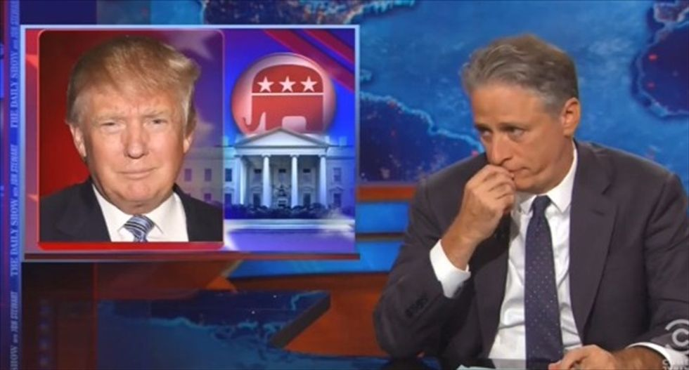 Media critic: If Jon Stewart hadn't left the Daily Show we might not be saying 'President-elect Trump'