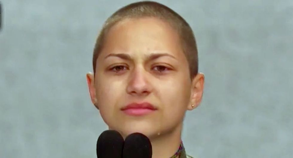 WATCH: Emma González brings #MarchForOurLives to tears