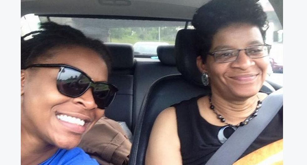 'This means war': Sandra Bland's mother vows to fight back at daughter's memorial service