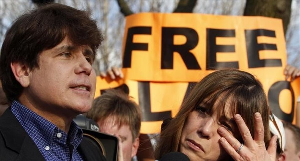 'Didn't Trump want the death penalty for drug offenses?': White House mocked for claim Blagojevich was freed to combat 'aggressive sentencing'
