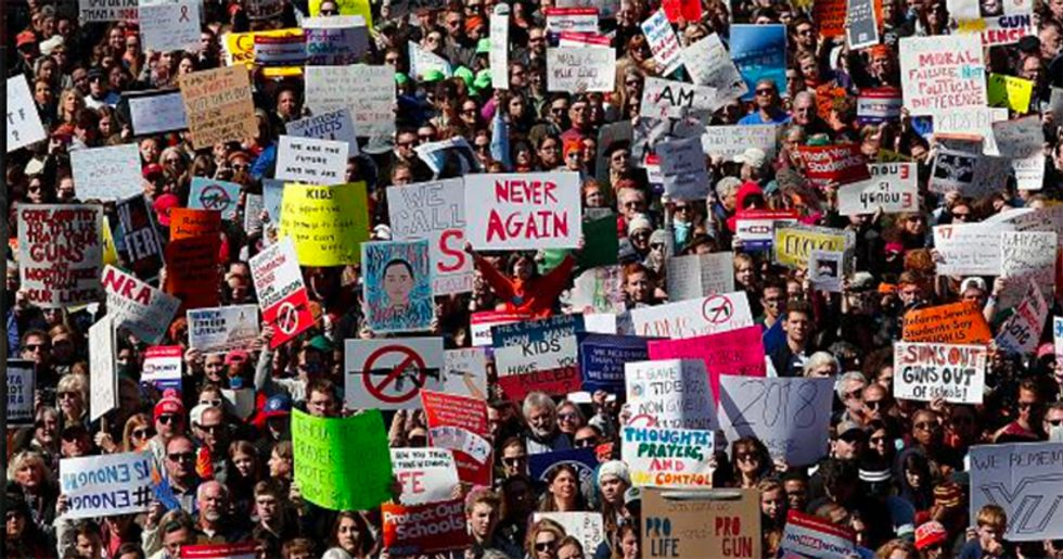 NRA getting clobbered in spending by gun control groups as support for new legislation increases: report