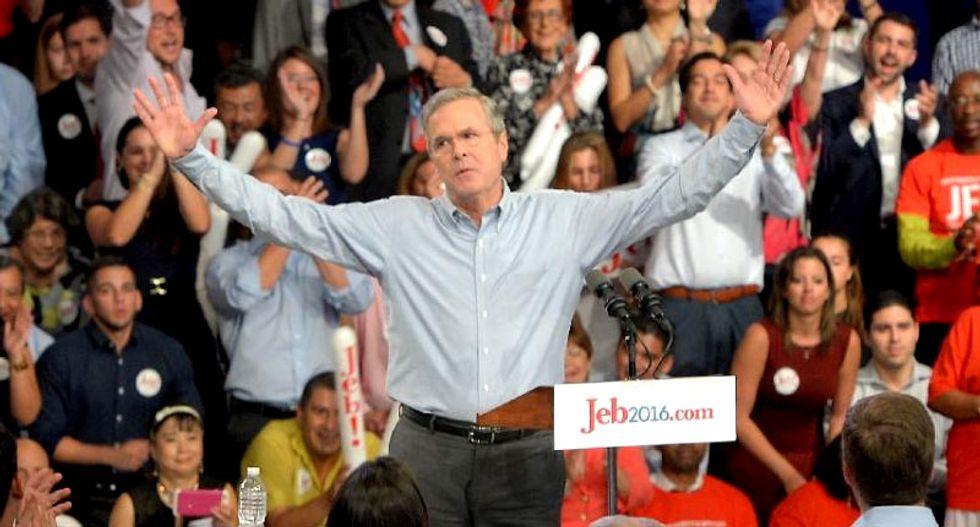 Jeb Bush says Hillary Clinton should share blame for Islamic State rise