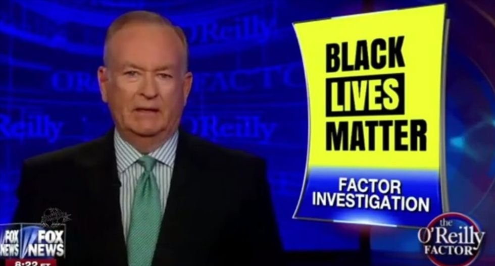 Bill O'Reilly freaks out: #BlackLivesMatter 'wants to tear down the country'