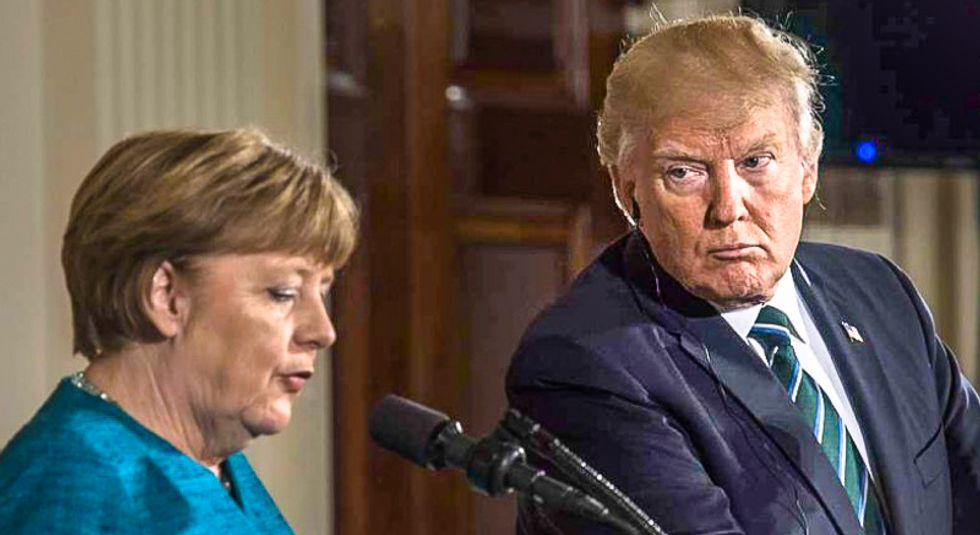 Germans fear they can't 'survive 8 years' of 'evil' Trump: report