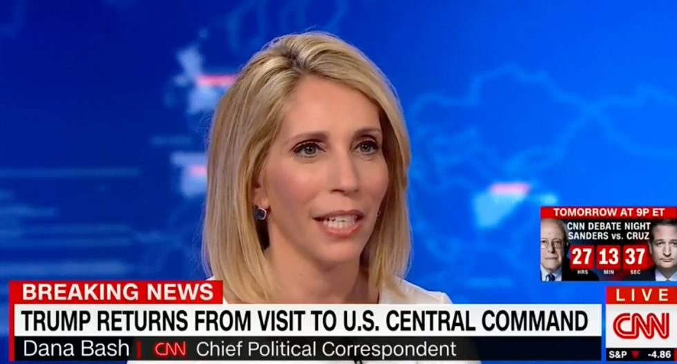 'Just do your job!': CNN's Dana Bash slams Trump for his persistent attacks on the press