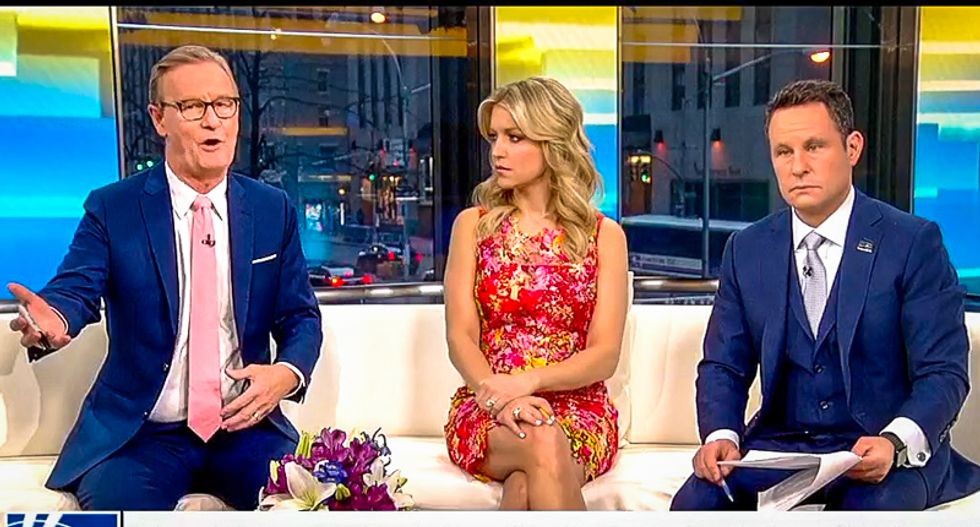 Fox & Friends wish Trump had ignored DeNiro — but giggle anyway at 'punch-drunk' insult