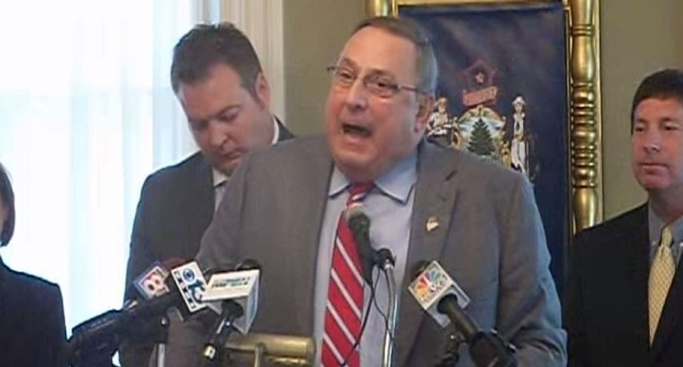 Maine's Tea Party Gov. has another tantrum -- and this time he might eliminate food stamps for good