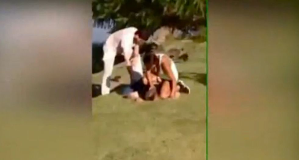Police called to exorcism at Texas public park: 'It's just not something you expect to see on the duckpond'