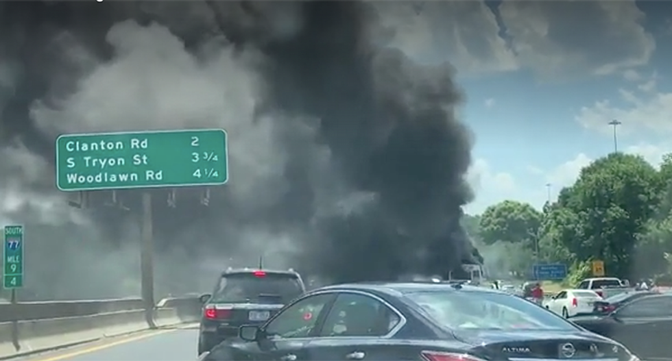 82-year-old North Carolina woman killed after church bus catches fire