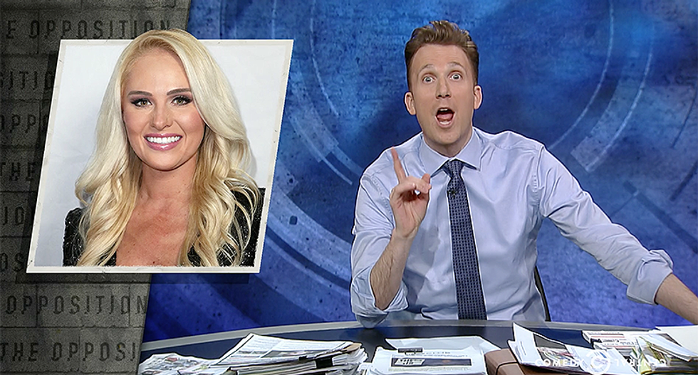 Jordan Klepper hilariously mocks Tomi Lahren after she attacked Parkland students for not 'marching for something'