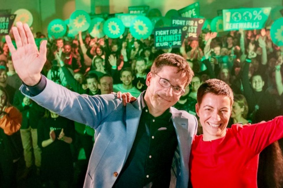 'A green wave has swept the European Parliament': In show of demand for climate action, Green parties surge in EU elections