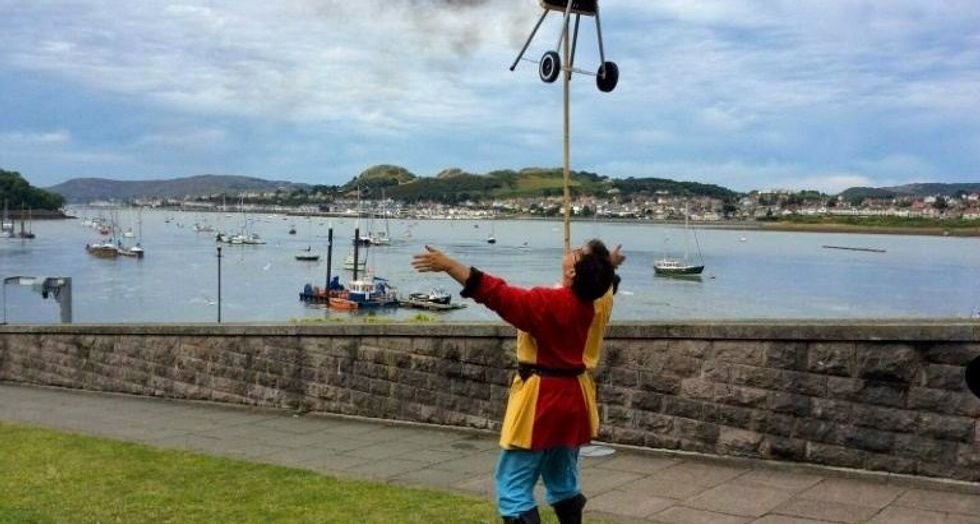 Welsh town appoints first jester in 700 years