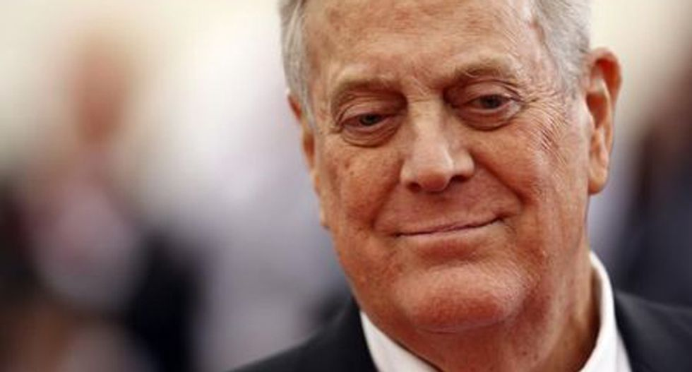Internet responds to death of billionaire conservative activist David Koch by reminding everyone what he stood for