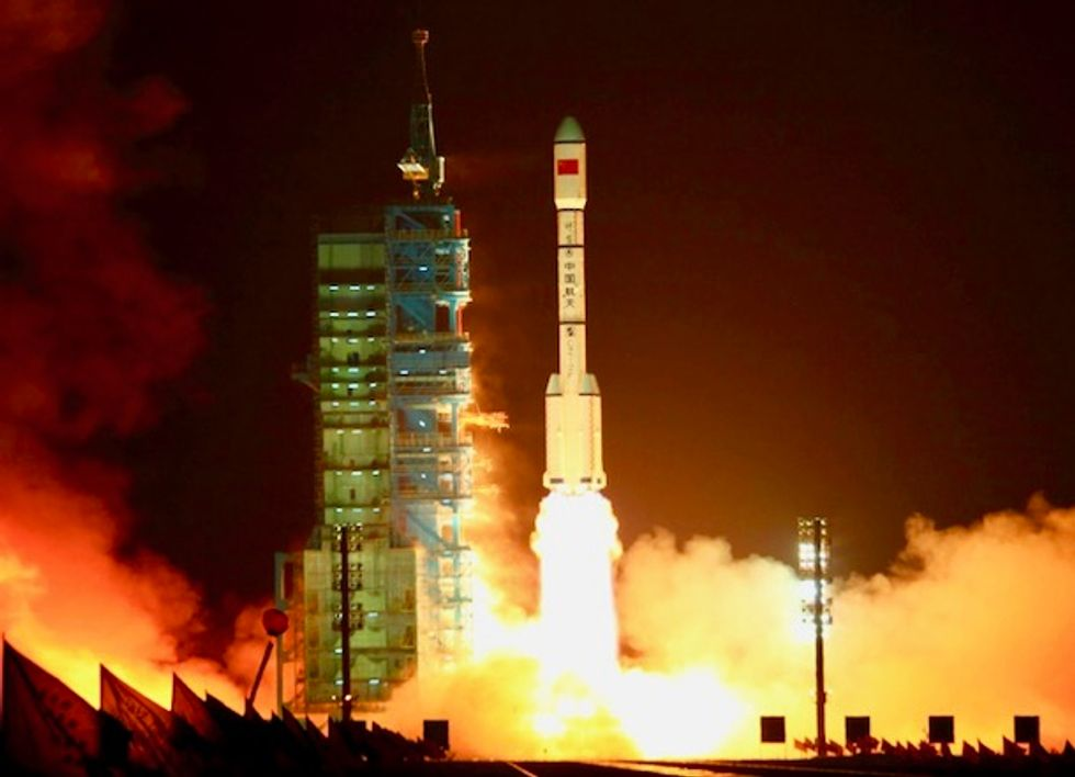 A Chinese space station is probably falling out of the sky this weekend. Here's everything you need to know.