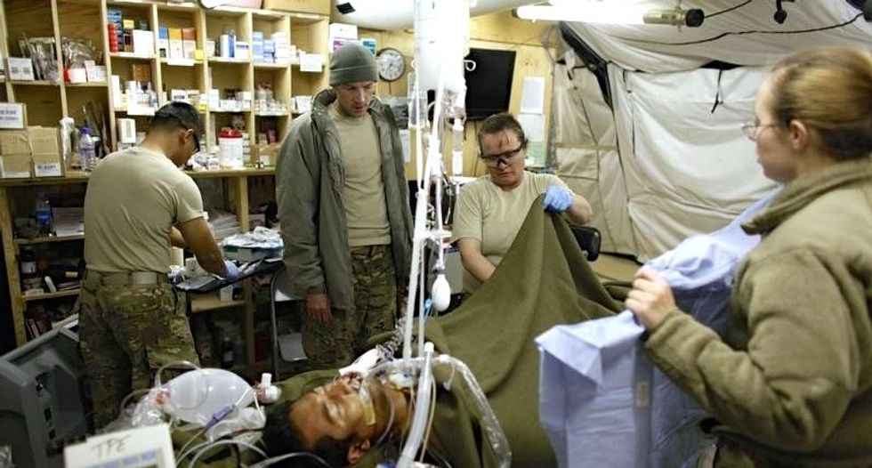 Pentagon defends blood-tracking system after criticism by federal investigators