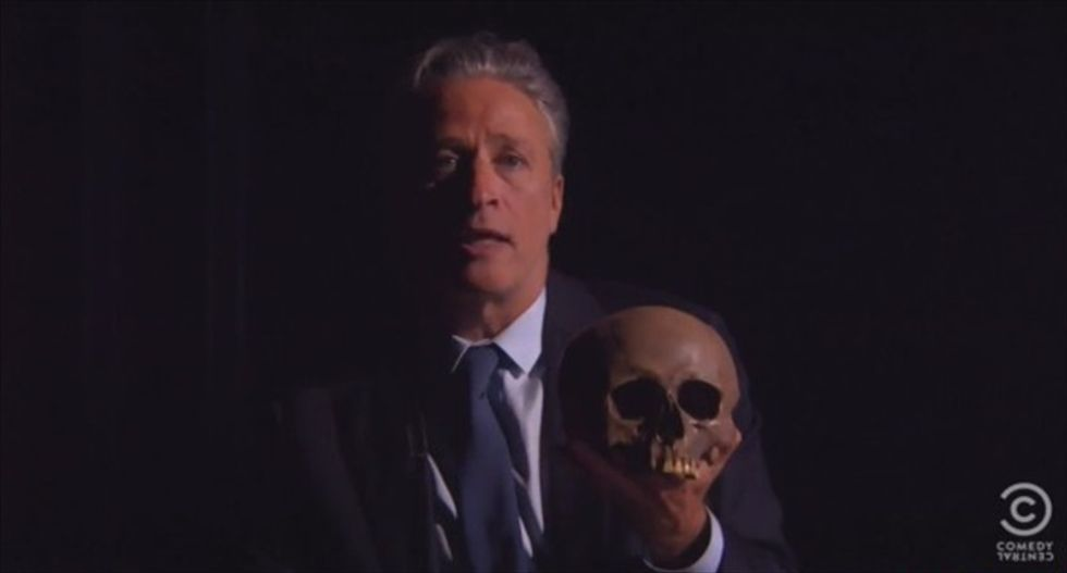 Jon Stewart 'eviscerates' news coverage of The Daily Show — and it's perfect