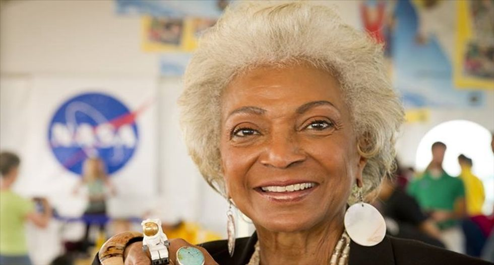 'Star Trek' alum Nichelle Nichols will boldly go on NASA mission for the second time