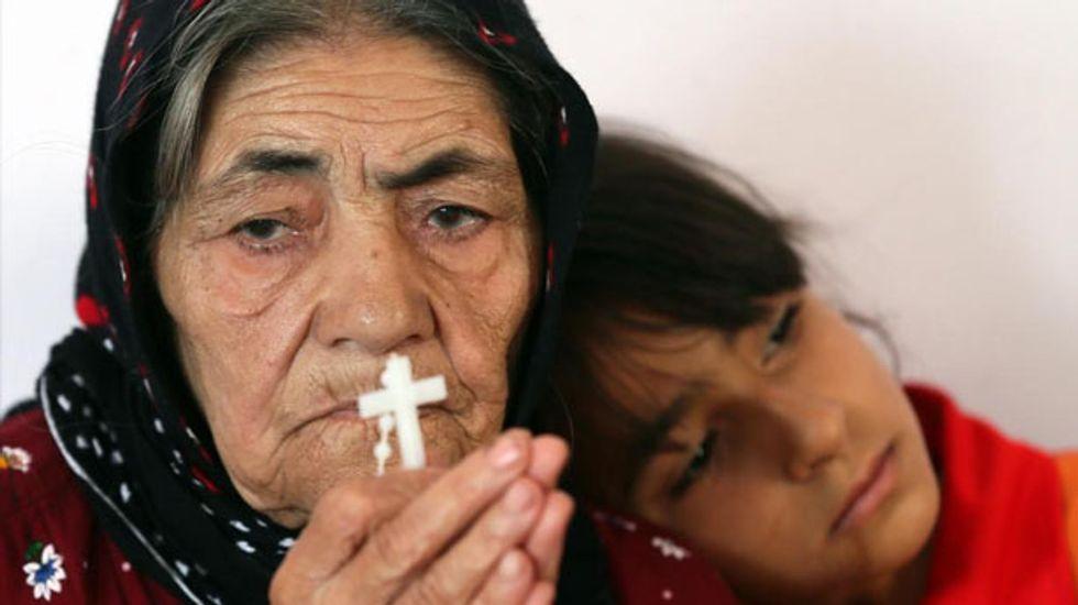 Humanitarian disaster: Iraq jihadist offensive sparks mass Christian exodus